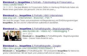 Blendeauf.eu - Imagefilme und Portraitfotografie - Suchergebnis mit Video